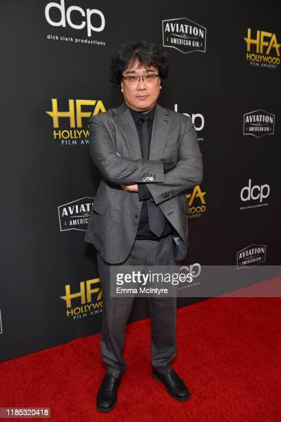 Bong Joon Ho attends the 23rd Annual Hollywood Film Awards at The Beverly Hilton Hotel on November 03 2019 in Beverly Hills California