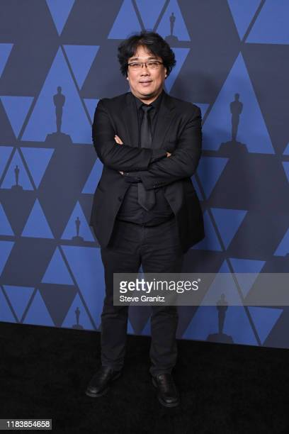 Bong Joon Ho attends the Academy Of Motion Picture Arts And Sciences' 11th Annual Governors Awards at The Ray Dolby Ballroom at Hollywood Highland...