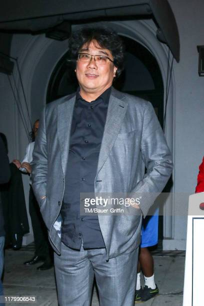 Bong Joon Ho is seen on November 03 2019 in Los Angeles California