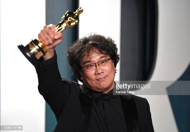Bong Joon-ho arriving for the 2020 Vanity Fair Oscar Party Hosted By Radhika Jones, at the Wallis Annenberg Center for the Performing Arts on...