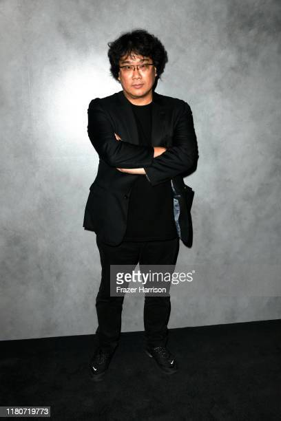 Bong JoonHo attends the 2019 Hammer Museum Gala In The Garden at Hammer Museum on October 12 2019 in Los Angeles California