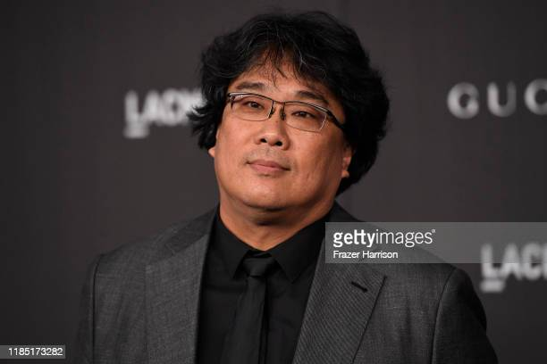 Bong Joonho attends the 2019 LACMA 2019 Art Film Gala Presented By Gucci on November 02 2019 in Los Angeles California