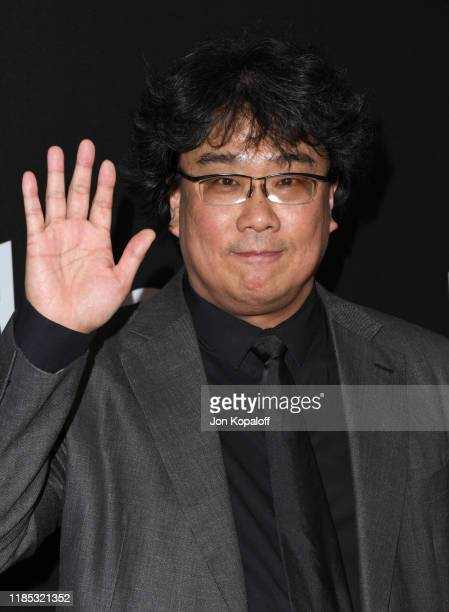 Bong Joonho attends the 23rd Annual Hollywood Film Awards at The Beverly Hilton Hotel on November 03 2019 in Beverly Hills California