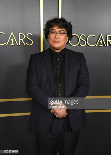 Bong Joonho attends the 92nd Oscars Nominees Luncheon on January 27 2020 in Hollywood California