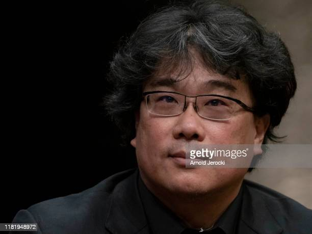 Bong Joonho attends the tribute to Francis Ford Coppola during the 11th Film Festival Lumiere on October 18 2019 in Lyon France