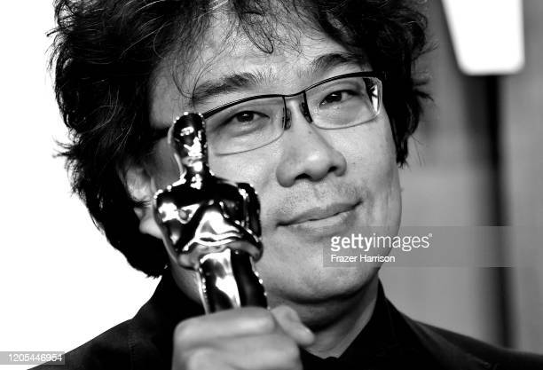 Bong Joonho attends Vanity Fair Oscar Party Hosted By Radhika Jones at Wallis Annenberg Center for the Performing Arts on February 09 2020 in Beverly...