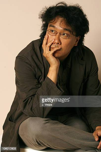 Bong JoonHo director during 31st Annual Toronto International Film Festival The Host Portraits at Portrait Studio in Toronto Ontario Canada