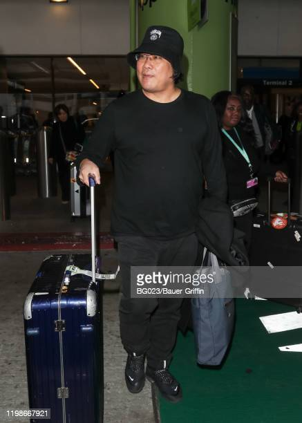 Bong Joonho is seen on February 04 2020 in Los Angeles California