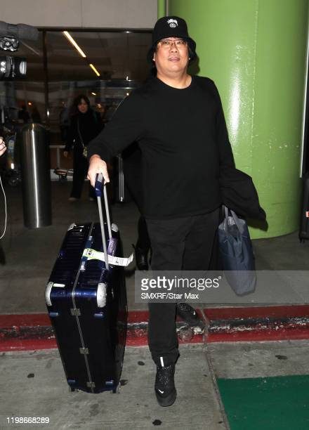 Bong Joonho is seen on February 4 2020 in Los Angeles California