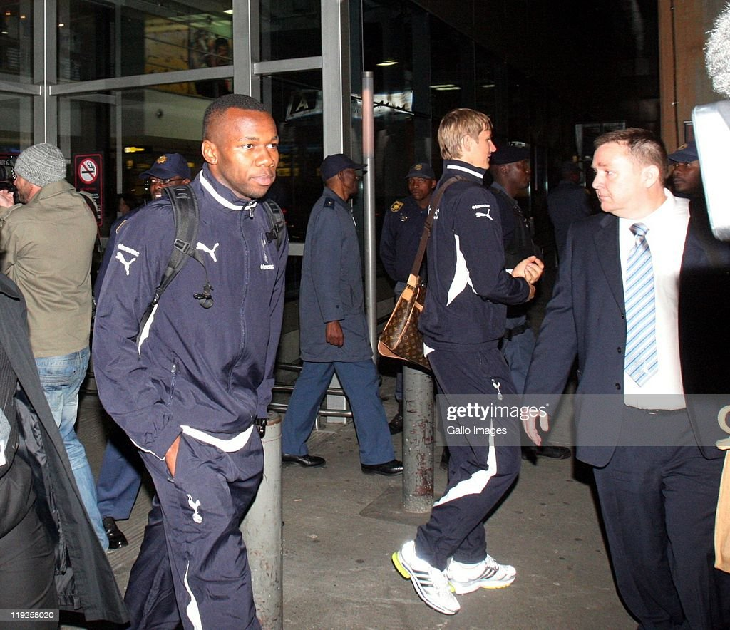Tottenham Hotspur Arrive For Pre-Season Tour In South Africa