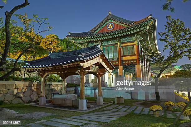 Bongeunsa Bhuddsit temple in Seoul