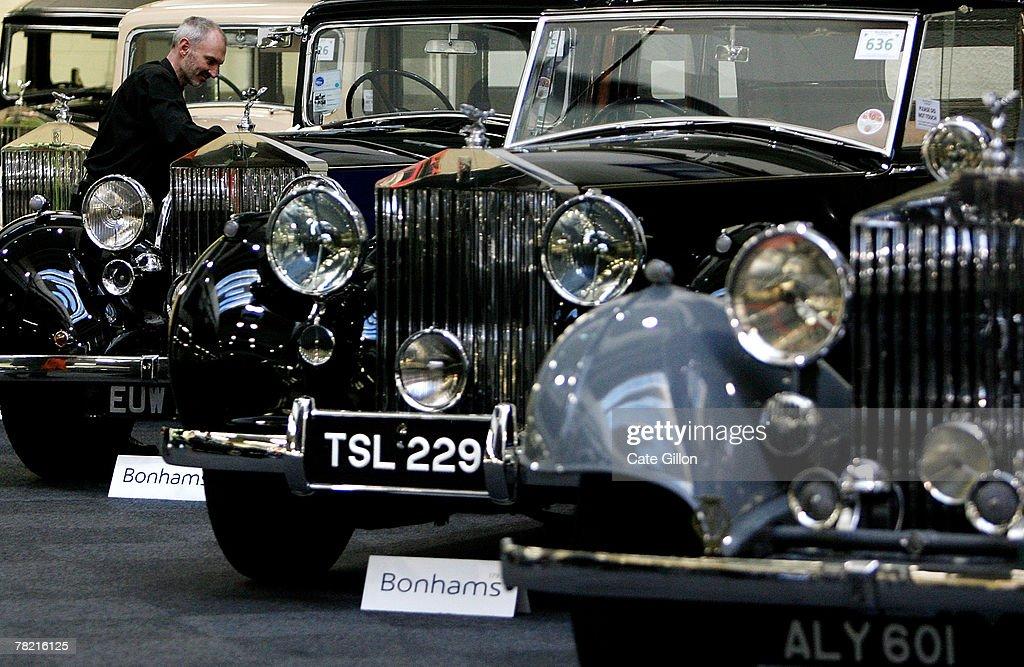 Bonhams Collectors Car Auction Photos and Images   Getty Images