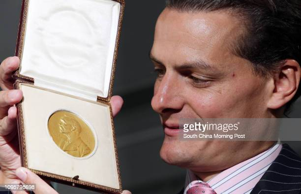 Bonhams public preview of The Nobel Prize medal awarded to George Minot in 1934 for his pioneering work on the treatment of pernicious anaemia is to...