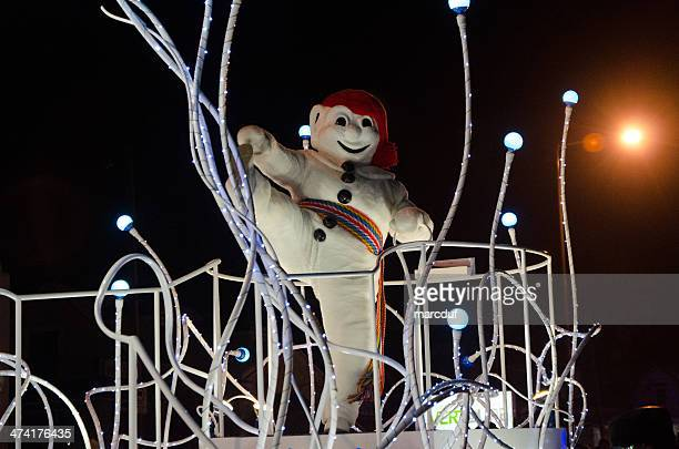 bonhomme carnaval steppette - quebec stock pictures, royalty-free photos & images