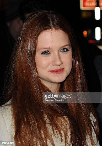 Bonie Wright attends Finch Partners annual preBAFTA party at Annabels on February 20 2010 in London England