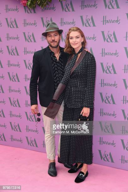 Boniface VerneyCarron and Arizona Muse attend the VA Summer Party at The VA on June 20 2018 in London England