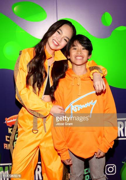 Bonifacio and Ace Bonifacio attend the 2019 Nickelodeon Kids' Choice Awards Slime Soiree on March 22 2019 in Venice California