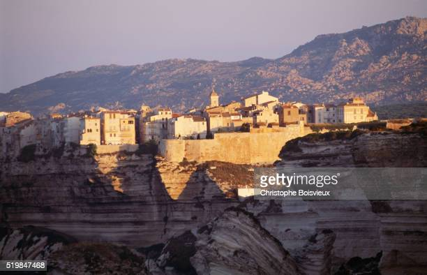 Bonifacio and Haute Ville Cliffs on Corsica