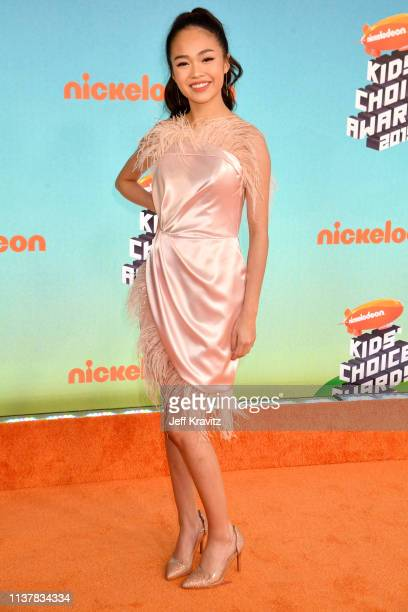 Bonifacio attends Nickelodeon's 2019 Kids' Choice Awards at Galen Center on March 23 2019 in Los Angeles California