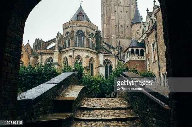 bonifacius bridge - bruges stock pictures, royalty-free photos & images