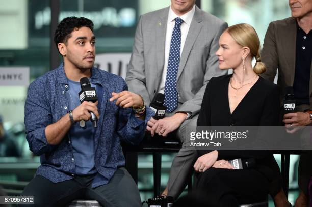 J Bonilla and Kate Bosworth attend Build Presents the cast of 'The Long Road Home' at Build Studio on November 6 2017 in New York City