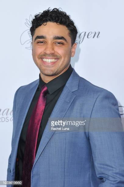 J Bonilla arrives at the 33rd Annual Imagen Awards held at the JW Marriott Los Angeles at LA LIVE on August 25 2018 in Los Angeles California
