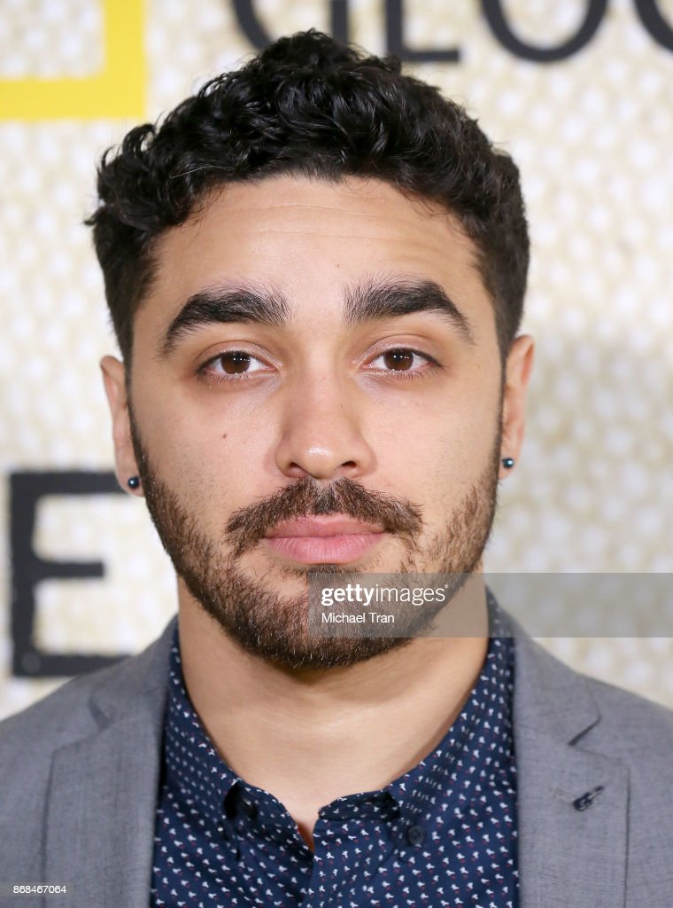 E.J. Bonilla arrives at the Los Angeles premiere of National Geographic's 'The Long Road Home' held at Royce Hall on October 30, 2017 in Los Angeles, California.