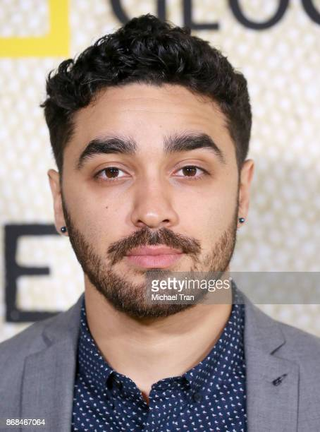 J Bonilla arrives at the Los Angeles premiere of National Geographic's 'The Long Road Home' held at Royce Hall on October 30 2017 in Los Angeles...