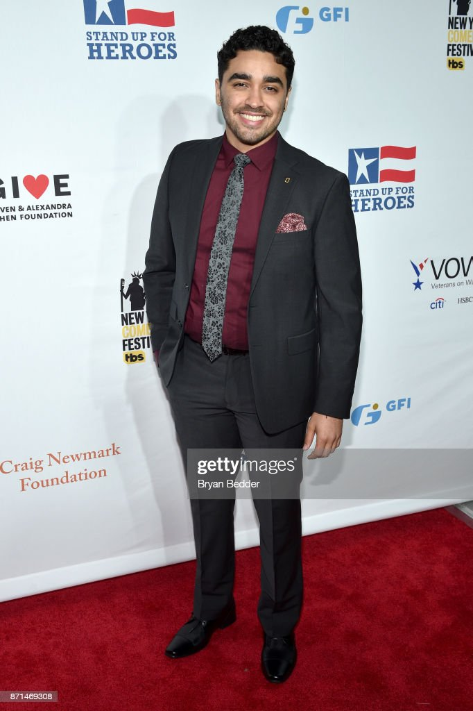 E.J. Bonilla attends the 11th Annual Stand Up for Heroes Event presented by The New York Comedy Festival and The Bob Woodruff Foundation at The Theater at Madison Square Garden on November 7, 2017 in New York City.