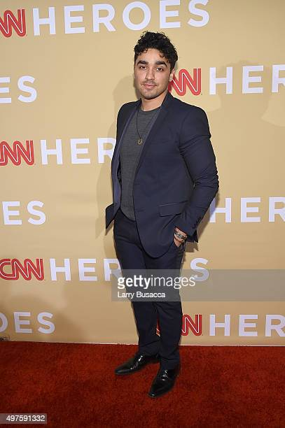 J Bonilla attends the '2015 CNN Heroes An AllStar Tribute' at American Museum of Natural History on November 17 2015 in New York City