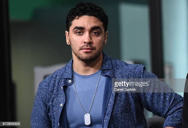 J Bonilla attends the Build Series to discuss the miniseries 'The Long Road Home' at Build Studio on November 6 2017 in New York City