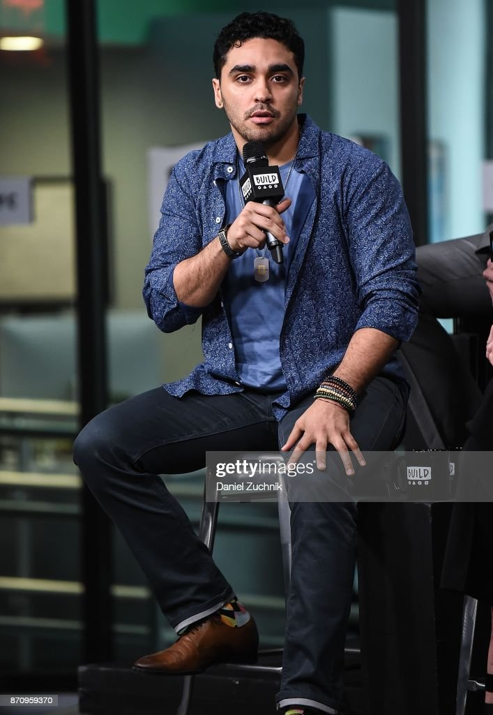 E.J. Bonilla attends the Build Series to discuss the mini-series 'The Long Road Home' at Build Studio on November 6, 2017 in New York City.