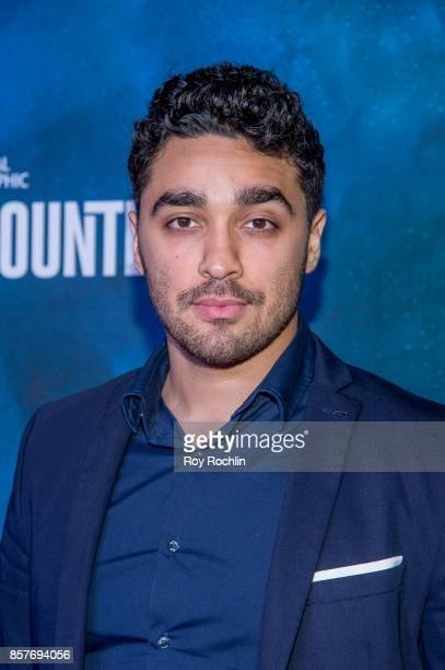 Bonilla attends the National Geographic Encounter Blue Carpet VIP preview celebration on October 4 2017 in New York City