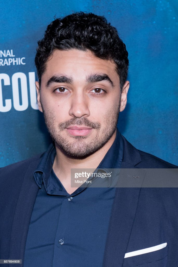 EJ Bonilla attends the National Geographic Encounter Blue Carpet VIP Preview Celebration on October 4, 2017 in New York City.