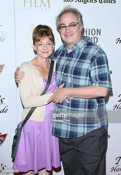 Bonita Friedericy and John Billingsley arrive at the 17th Annual Newport Beach Film Festival honors reception held at The Balboa Bay Club and Resort...