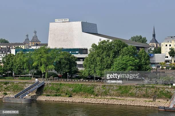 Bonner Theater Theatergebäude Halle Ansicht außen Außenansicht Gebäude Rhein Fluß