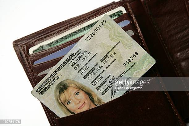GERMANY Bonn As small as a credit card on November 1st 2010 the new identification card is introduced