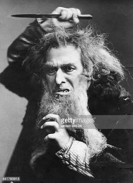 Bonn Ferdinand Actor Director Germany*20121861Portrait as ShylockPhoto postcard undatedVintage property of ullstein bild