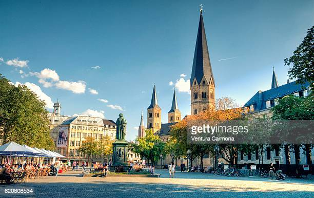 bonn minster (germany) - beethoven stock pictures, royalty-free photos & images
