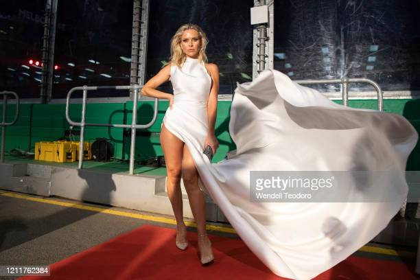 Bonnee Fahlstrom attends the Glamour On The Grid party on March 11, 2020 in Melbourne, Australia.