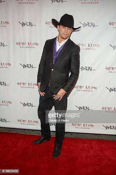 Bonner Bolton attends Heidi Klum's 17th Annual Halloween Party at Vandal on October 31 2016 in New York City