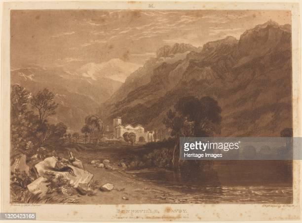 Bonneville, published 1816. Artist JMW Turner.