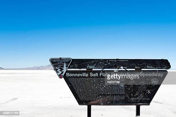 bonneville salt flats in utah - bonneville salt flats stock pictures, royalty-free photos & images