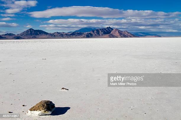Bonneville Salt Flats of Northwestern Utah, USA