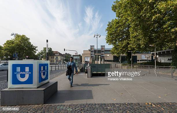 Bonn-Gronau Heussallee/Museumsmeile subway station in Bonn, Germany, 09 September 2014. Bonn, that offers many touristic attractions, was founded in...