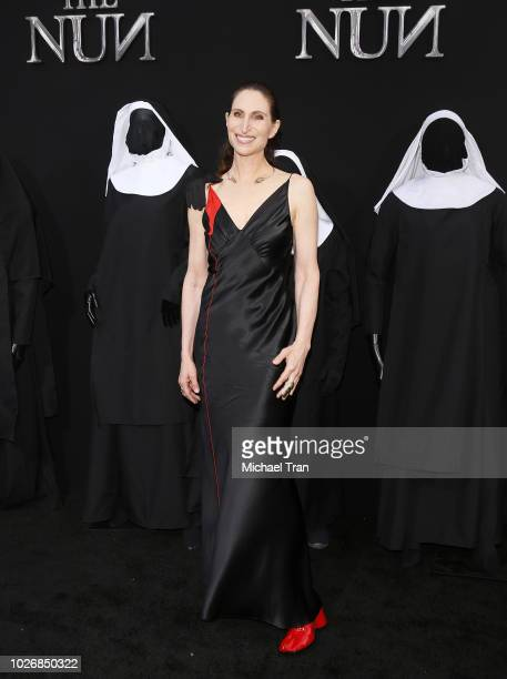 Bonnie Aarons attends the Los Angeles premiere of Warner Bros Pictures' 'The Nun' held at TCL Chinese Theatre on September 4 2018 in Hollywood...