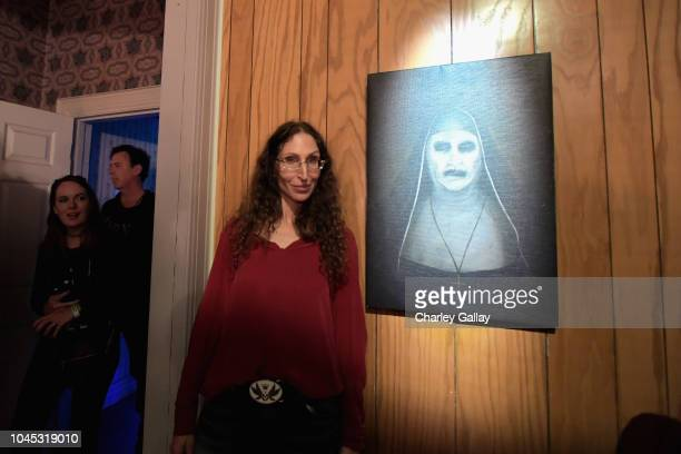 Bonnie Aarons attends the Warner Bros Studio Tour Hollywood Horror Made Here A Festival Of Frights on October 3 2018 in Burbank California