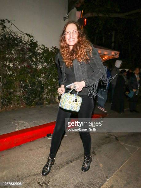 Bonnie Aarons is seen on January 04 2019 in Los Angeles California