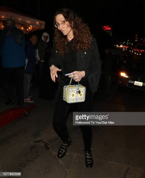 Bonnie Aarons is seen on January 4 2019 in Los Angeles CA