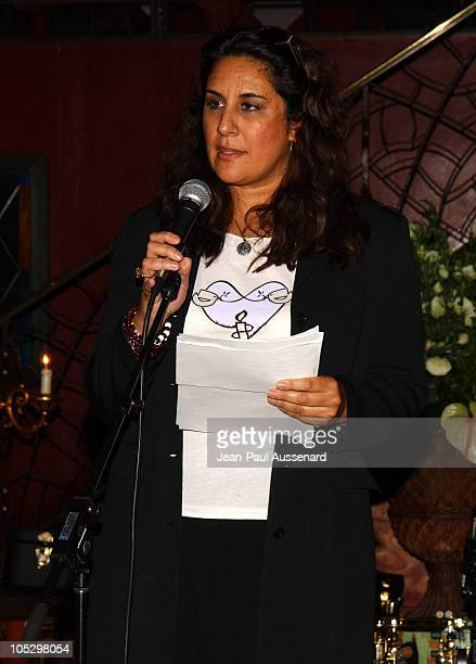 Bonnie Abaunza during Amnesty International and Designer Tracy Wilkinson Benefit at Cafe La Boheme in West Hollywood California United States